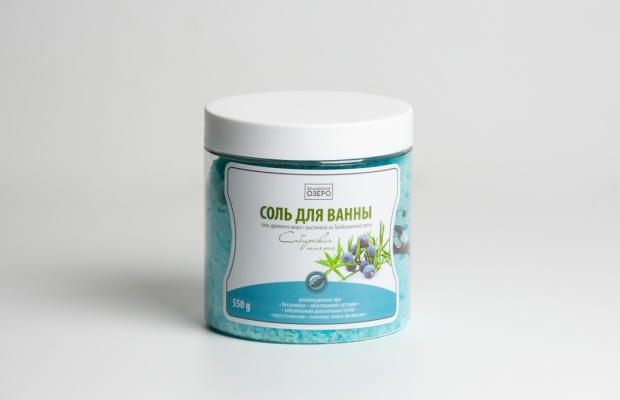 Соль для ванн «Сибирская пихта», 550 гр «Волшебное Озеро»