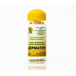 Гранулы гомеопатические «Дерматон»10гр.